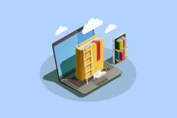 online school and learning